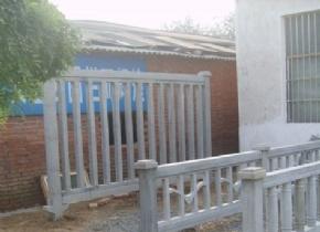 高铁水泥护栏