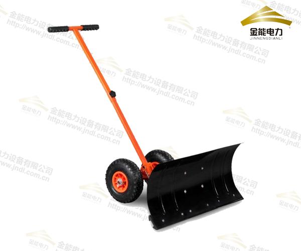 轮式推雪车(轮式人工除雪车)
