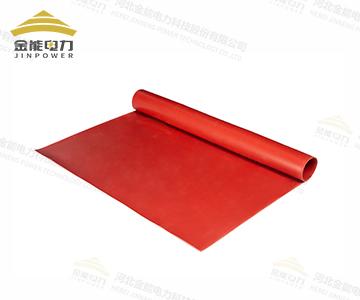 配电室专用绝缘胶垫,红色绝缘橡