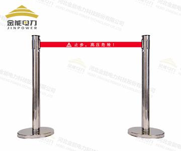 不锈钢伸缩围栏(带式) 银行机