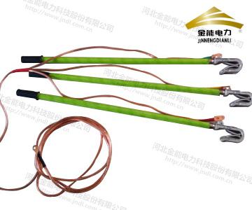 双簧式高压线路短路接地线 变电