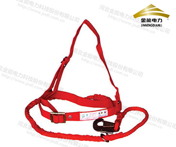 单背架子工式安全带