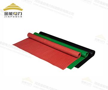 配电室专用条纹绝缘橡胶板