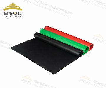 配电柜前橡胶绝缘垫 变电站绝缘