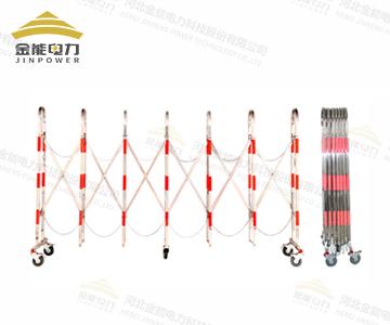 不锈钢伸缩转向式围栏 拱形伸缩
